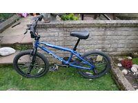 BMX BLUE BIKE