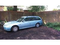 Rover 75 Tourer - For parts and spares.