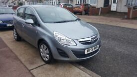 vauxhall corsa 1.2 exclusiv 2013 full service history reasonable offers accepted.£2950