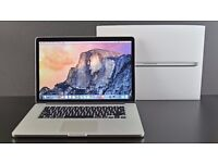 "Apple Macbook Pro 15"" i7 4gb Ram Complete with box"