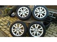 "Mazda 3 16"" Alloy Wheels & Tyres"