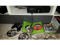 Xbox console with 7 games 1 controller plus all leads in perfect working order and good condition