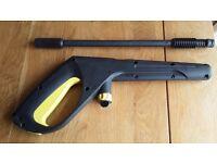 Karcher Pressure Washer Gun and Vario Lance. New Condition.