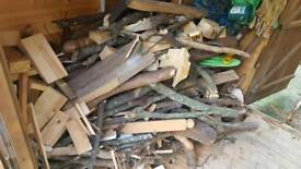 Stock pile of Mixed Wood