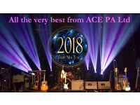 PA & Lighting Hire Sound System Hire Sound Equipment Hire LED Lighting Hire By ACE PA Limited