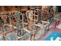 Selection of chair frames for restoration or project