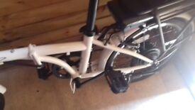 Ladies electric folding bike