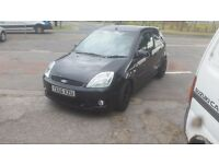 2005 ford fiesta st.... mot febuary 2017...low mileage