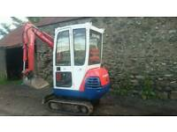 Wanted ; kubota kx41-2 / kx36-2 mini digger rear corner panels