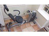 Recumbent Exercise Bike - Domyos VA300 - Magnetic resistance