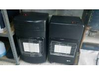Calor Gas heater. Choice of two - with empty bottle