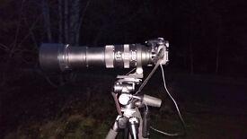 Sigma 150-500mm f/5-6.3 APO DG OS HSM, CANON fit