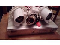 CCTV cameras and recorder for sale