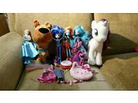 Girls my little pony and doll / toy bundle