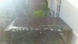 Big garden table