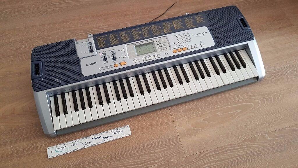 casio lk 110 keyboard piano with light up keys in heathrow