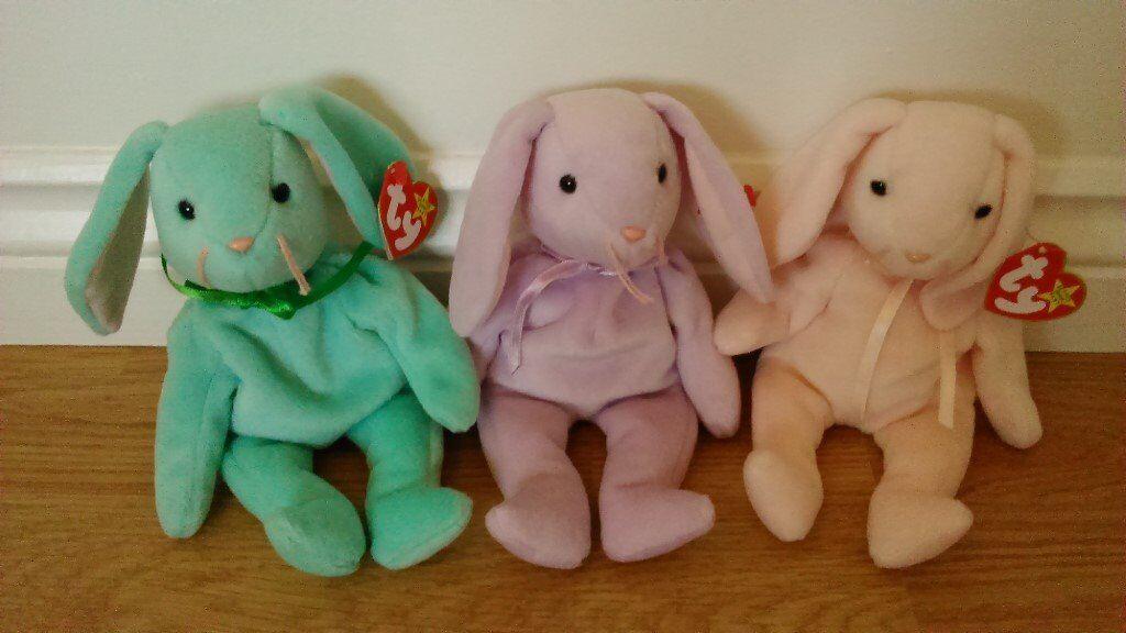 b6d79d77c36 Ty Beanie Babies (Retired) – Set of Hippity