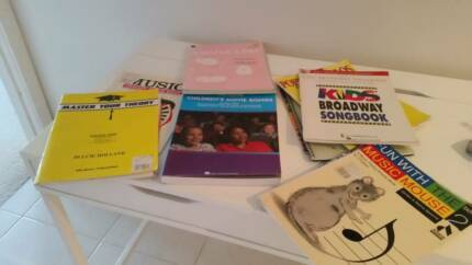 Children's Music and Theory Song Singing Books