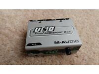 M-Audio Midisport 2x2 USB Midi adapter
