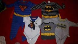 "5 piece ""Little heros"" bundle 3-6 months"