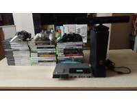 Xbox 360 Slim and PlayStation 2 Slim, with games *FULLY WORKING*