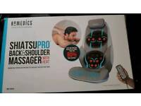 Shiatsu back massager