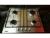 Zanussi ZGG65414SA Four Burner Gas Hob