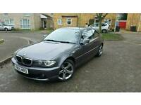05 / 2005 BMW 320 cd Diesel Coupe Auto Grey