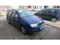 Skoda fabia 1.2, good little runner with minor body dents. Quick sale to pay for vets fees.