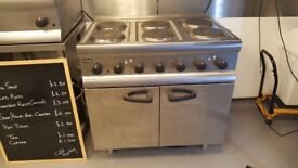 Lincat ESLR9C 6 Hob Electric Cooker and Oven - NEVER USED