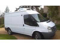 Refrigerated Van. Ford Transit T350 HD High Roof, MWB with standby £9,750 + VAT