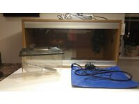 Vivarium + other accessorise used but in perfect condition