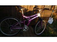 Ladies & Gent's Mountain bike (both 18 inch frame)