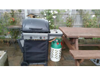 Gas fired BBQ in good condition