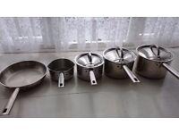prestige stainless steel pans