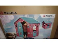 **BARGAIN - BNIB Injusa Frozen Outdoor Playhouse - Unwanted gift**
