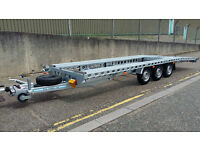 Car Transporter Recovery Trailer 23 FT 3500 KG . 3 YEARS WARRANTY