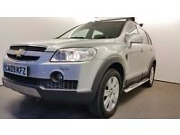 2009 | Chevrolet Captiva LTX VCDI | Automatic | LTX SPECS | LOW MILEAGE | LEATHER SEATS |MOT