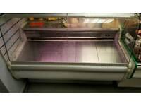 Serve Over Counter Display Fridge- Parts or Repair