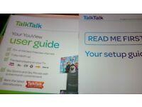 TalkTalk Your YouView box unused