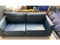 CONTEMPORARY LEATHER SOFA FOR SALE.