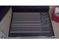 behringer mx9000 with case and lights
