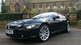 BMW 650I SPORT 4.8 AUTO COUPE GOOD HISTORY PAN ROOF £9000 WORTH OF FACTORY EXTRAS 630i 645i m6