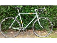 Peugeot road bike single speed fixed gear fixie