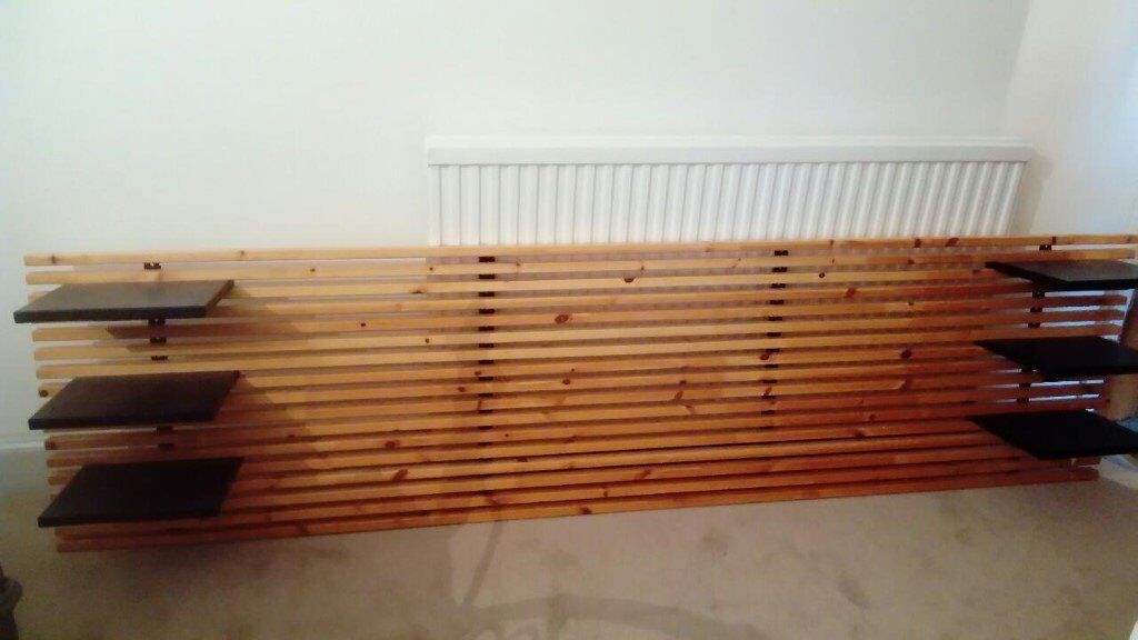 ikea mandal headboard in lanark south lanarkshire gumtree. Black Bedroom Furniture Sets. Home Design Ideas
