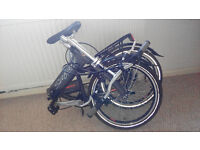 Foldable bike/bicycle, 6 gears, excellent condition