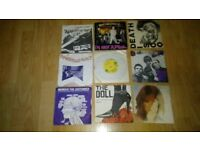 145 x 7 inch chelsea sex pistols exploited cockney rejects damned 999 ruts rezillos