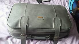 Carlton international leather suitcase
