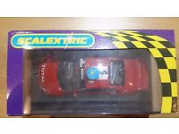 Scalextric car - MINT CONDITION Brand new with box Peugeot 307 rally car - Gronholm