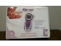 Labour pain relief : Elle tens machine